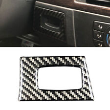 Carbon Fiber Interior Key Hole Frame Cover Trim Decal for BMW 3 Series E90 E92