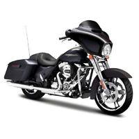 Maisto Modèle réduit de moto Miniature Harley Davidson 2015 STREET GLIDE 1/12