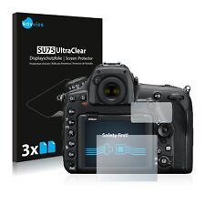 6x Displayschutzfolie für Nikon D850 Schutzfolie Klar Folie Displayfolie