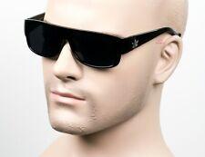 Gangster Easy E Cholo Black Super Dark Sunglasses LOC OG Style Marijuana THC4