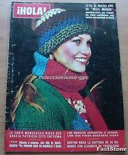 HOLA 1583 ANNELINE KRIEL Cover PREMIOS NOBEL 1974 SOLZHENITSYN MARIBEL LORENZO