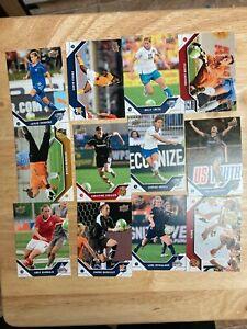 Marta Christine Sinclair RC Lot 4 sets 2011 Upper Deck MLS WPS Soccer #186-197
