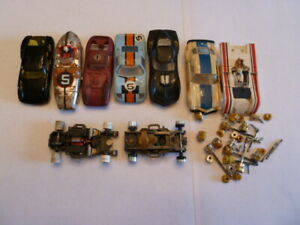 T-Jet Bodies 2 Chassis and parts