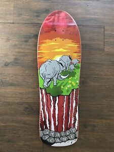 Street Plant Mike Vallely Signed 3rd Anniversary Collectors Edition Skateboard
