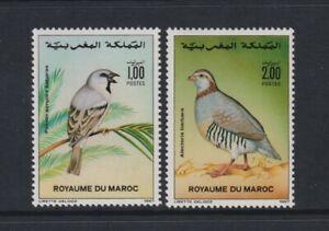 Morocco - 1987, Birds set - MNH - SG 741/2