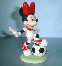 Lenox Disney Soccer Star Minnie Mouse Figurine New