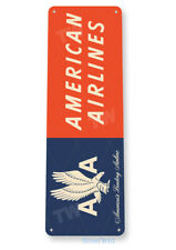 American Airlines Retro Airport Aviation Sign D145