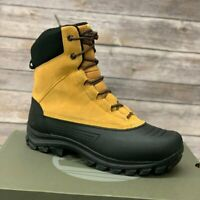 Timberland Men's Suede Waterproof Wheat Snow Boots