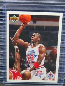 1991-92 Upper Deck Michael Jordan All-Stars Checklist #48 Bulls E451