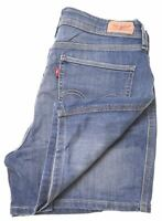 LEVI'S Womens Denim Shorts W29 Blue Cotton  DR02