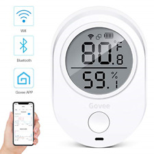 Wifi Temperature Humidity Monitor for iPhone/Android, Govee Wireless Digital Log