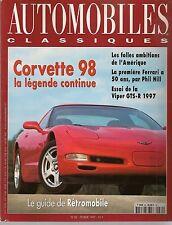 AUTOMOBILES CLASSIQUES 80 DODGE VIPER GTSR FERRARI 166 002C GHIA SUPERSONIC 54