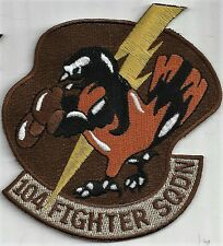 USAF 104th FIGHTER SQ  PATCH -                                            DESERT