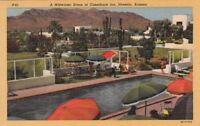 Postcard Midwinter Scene Camelback Inn Phoenix AZ