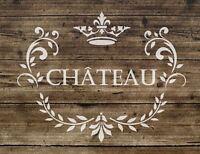 MYLAR STENCIL Shabby Chic FRENCH VINTAGE Craft Art 125//190 micron A3//A4//A5 29