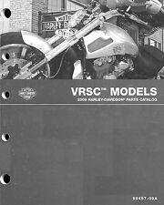 2009 HARLEY-DAVIDSON VRSC V-ROD PARTS CATALOG MANUAL -VRSCAW-VRSCDX-VRSCF