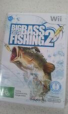 Big Catch Bass Fishing 2 Nintendo Wii PAL Version