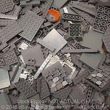 "LEGO 1lb DARK STONE/BLUISH ""NEW"" GREY~400 Pieces-SANITIZED-Bulk Pound Lot Brick"