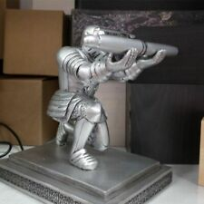 Resin executive Knight Pen Holder with a pen- Personalized Desk Accessory Pen