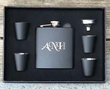 2 Personalized Flask Gift Set Groomsman Best Man Engraved Wedding Groomsmen