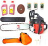 "PROGEN Powerful 58CC Petrol Chainsaw 20""  with 3 Chains & Free Oil & Carry Case"