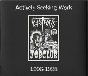 The Restarts - Actively Seeking Work 96-98 (CD 2003) Early EPs Demo & Split NEW