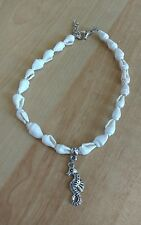 beautiful sea shell anklet/ankle bracelet seahorse pendant beach summer holiday