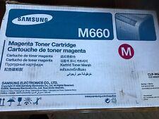 CLP-M660B Genuine Samsung Magenta Toner CLP-610ND CLP-660ND CLP-6200ND !