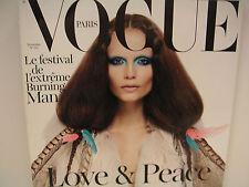 NEW: VOGUE PARIS #912 NOVEMBRE (NOVEMBER) 2010 ISSUE NATASHA POLY COVER
