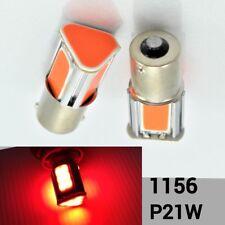 1156 180° BA15S P21W COB LED Red Car Headlight Bulb Rear Signal B1 #1 For Eagle