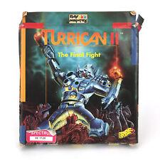 TURRICAN II THE FINAL FIGHT. ERBE SPAIN RAINBOW ARTS 1991 RARE SPECTRUM CASSETTE