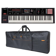 Roland FA-06 FA06 61-key Music Workstation & CB-B61 Keyboard Bag Bundle New