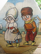 ANCIENNE LAMPE DE CHEVET ENFANT ART DECO DECOR ENFANTS POULBOT BRETAGNE HOLLANDE
