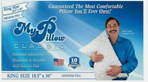 Original My Pillow King Size Medium Fill Bed Pillow
