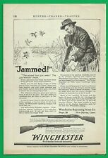 "1917 Winchester Arms Paper Ad ~ Hammerless ""Take-Down"" Repeater"