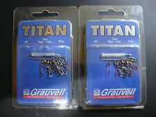 GRAUVELL TITAN Nº 10 EMERILLON CON GRAPA /ROLLING BARREL SWIVELS HANGING / 12 Kg