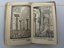 1916 Masonic Craft Emulation Ritual Freemason Book Symbolism Perfect Ceremonies
