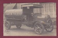 PHOTO - 080814 - AUTO CAMION DE DION BOUTON vers 1910 - TOLEDO ESPAGNE POMPIER