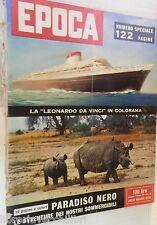 EPOCA 14 dicembre 1958 Nave Leonardo da Vinci Sottomarini Delia Scala Kelly Scia