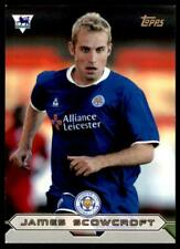 Topps Premier Gold 2004 - Leicester James Scowcroft - LC5