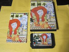 Maou Renjishi (Sega Mega Drive) Kabuki Mystical Fighter Genesis Japan Complete