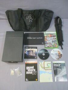 XBox 360 GRAND THEFT AUTO IV Special Edition Box Set Video Game 2008 Rockstar z