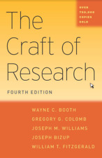 The Craft of Research, Fourth Edition  (PLEASE READ DESCRIPTION)