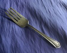 Mary Warren By Manchester Sterling Silver Baby Or Childs Fork Unmonogrammed