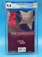 Civil War: The Confession #1 CGC 9.8 2007