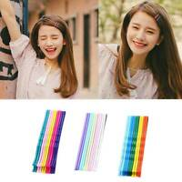10Pcs Multicolor Hair Clip Girls Candy Color Hairpin  BB Clips Hair Accessories