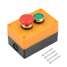 Push Button Switch Box Momentary Green Switches And Emergency Stop