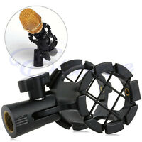 Mic Microphone Shock Mount Clip Holder Studio Sound Recording Universal  TOP