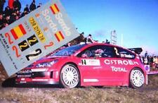 DECAL CALCA 1/18 CITROEN C4 WRC D.SORDO RALLY MONTE CARLO 2007 (ANEXO / ANNEX)