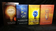 City of Ember Series Collection Set 1-4 by Jeanne DuPrau Sparks Prophet Diamond